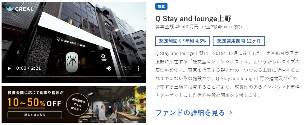 Q Stay and lounge上野