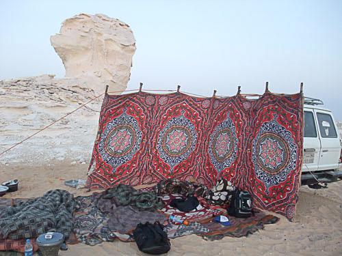 白砂漠黒砂漠ツアー