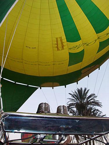 ルクソール気球