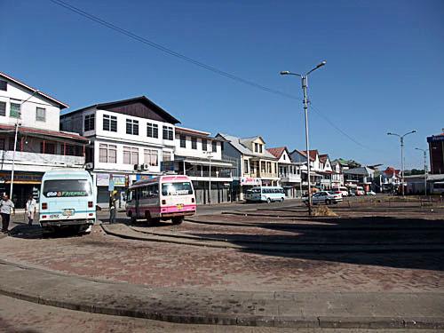 パラマリボの歴史地区