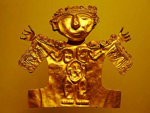 コロンビア黄金博物館