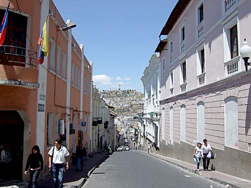 エクアドル首都キト
