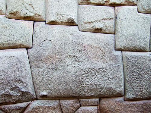 十二角の石