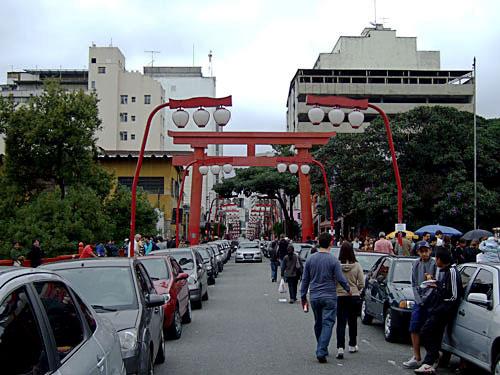 サンパウロ日本人街