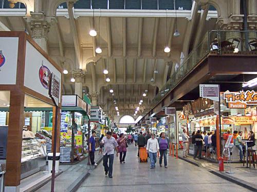 サンパウロ市営市場