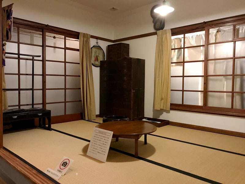 渋谷区郷土博物館文学館