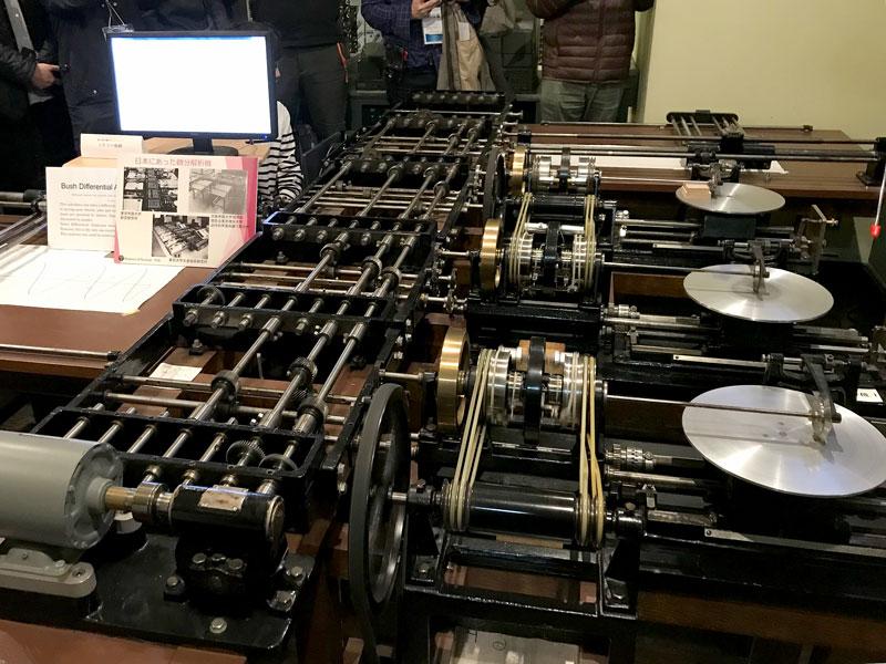 Bush式アナログ微分解析機