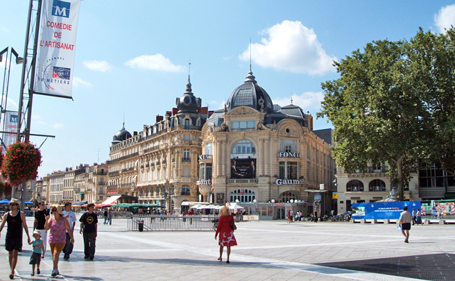南仏の街モンペリエ、一人暮らしの思い出。の画像