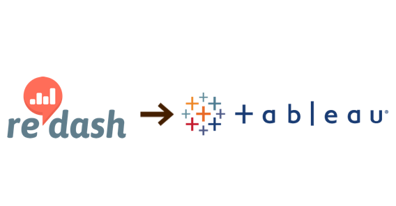 from redash to tableau