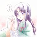 あにさまの手、きれいね