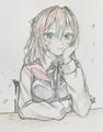 溟(ウミ)さんにエリーゼを描いて頂きました!
