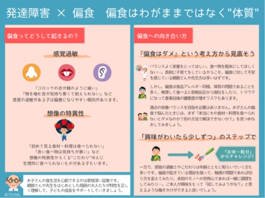 https://www.teensmoon.com/chart/【図表でわかる!】発達障害-x-偏食-わがままで/