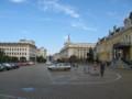 [ブルガリア][ソフィア]国立美術館前の広場:Sofia, BULGARIA 2006/09/23