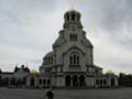 [ブルガリア][ソフィア][教会]アレクサンダル・ネフスキー教会:Aleksandar Nevski Memorial Church in Sofia, BULG