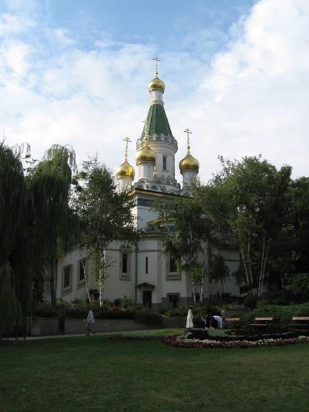 聖ニコライ・ロシア教会:Nicholai Russian Church in Sofia, BULGARIA 2006/09/23