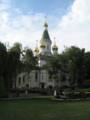 [ブルガリア][ソフィア][教会]聖ニコライ・ロシア教会:Nicholai Russian Church in Sofia, BULGARIA 2006/09/23