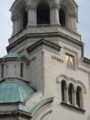 [教会][ソフィア][ブルガリア]アレクサンダル・ネフスキー教会:Aleksandar Nevski Memorial Church in Sofia, BULG