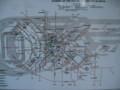 [地図][ソフィア][ブルガリア]トラム路線図:Tram map, Sofia, BULGARIA 2006/09/23