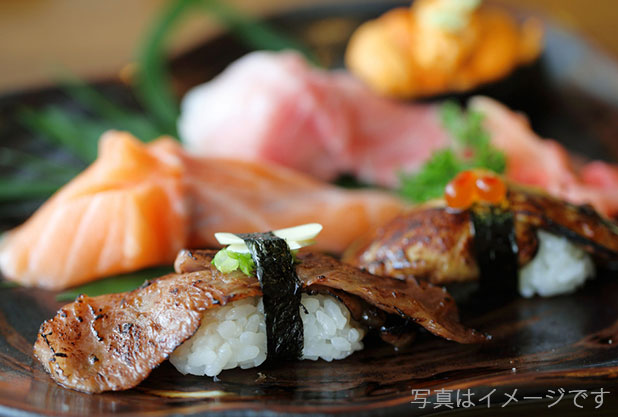 松坂牛の寿司