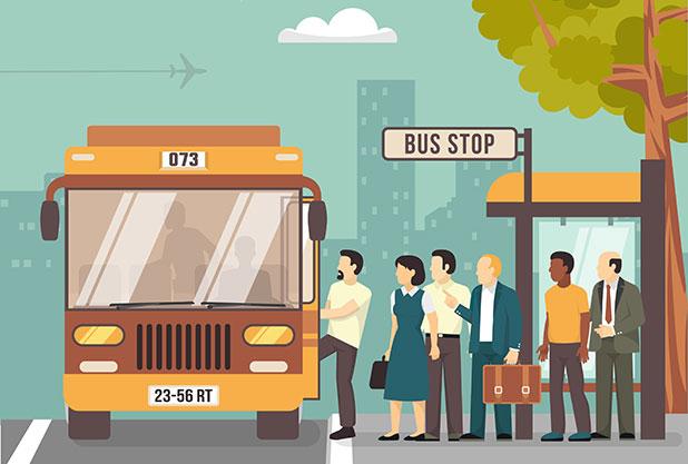 路線バスの乗り方