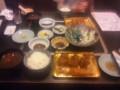 ヒレカツ膳 + えび