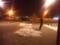 雪の降る中スケートなう。