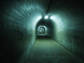 トンネル入った直後