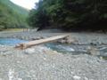唐沢dayキャンプ場の怖い橋w