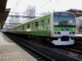 山手線E231系・50周年記念号(御徒町駅)