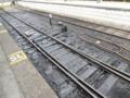 SLが入線したせいで、線路が油ギトギトw