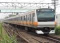 中央線E233系(豊田駅)