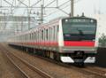 京葉線E233系(市川塩浜駅)