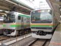 東海道線E231系&東海道線E217系(東京駅)