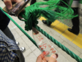 東京駅にロープが敷かれましたw