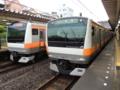 中央線E233系&中央線E233系(西国分寺駅)