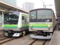 横浜線E233系&横浜線205系(東神奈川駅)