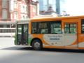 東京駅を行く都営バス