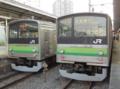 横浜線205系&横浜線205系(東神奈川駅)