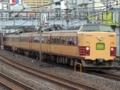 485系「一村一山号」(鶯谷駅)