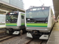 横浜線E233系&横浜線E233系(東神奈川駅)