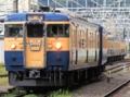 115系&クモユニ143形「懐かしの115系横須賀色号」(松本駅)