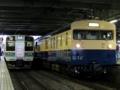 クモユニ143形「懐かしの115系横須賀色号」&中央線211系(松本駅)