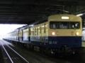 クモユニ143形&115系「懐かしの115系横須賀色号」(松本駅)