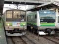 横浜線205系&横浜線E233系(東神奈川駅)