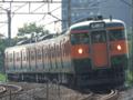 高崎線115系「団体専用臨時列車」(吹上~行田)