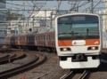 山手線E231系500番台「赤レンガ色ラッピングトレイン」(御徒町駅)