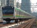 上野東京ラインE233系3000番台「試運転」(御徒町駅)