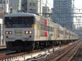 上野東京ライン185系200番台「試運転」(御徒町駅)