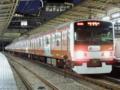 山手線E231系-500番台「赤レンガ色ラッピングトレイン」(大崎駅)
