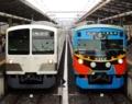 西武鉄道新101系1253F編成&西武鉄道3000系3011F編成(西武球場前駅)